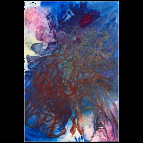 Firebird-on-Ice watercolour