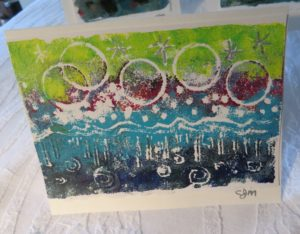 card from stamp
