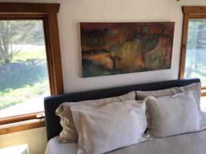 painting in bedroom